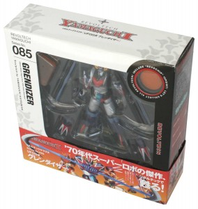 Packaging du Goldorak  Revoltech (Grendizer)