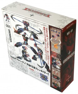 Dos du Packaging du Goldorak  Revoltech (Grendizer)