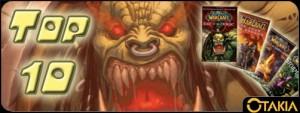 Le Top 10 des livres sur Warcraft