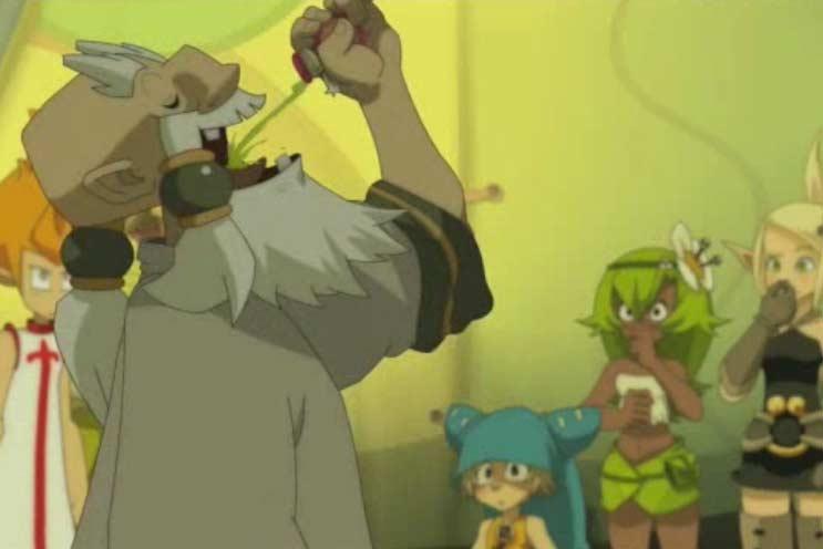 Dans l'épisode 9 Ruel utilise une Potion de Rappel