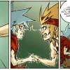 Silas dit au revoir à Musafa (Wakfu - les larmes de sang tome 2)