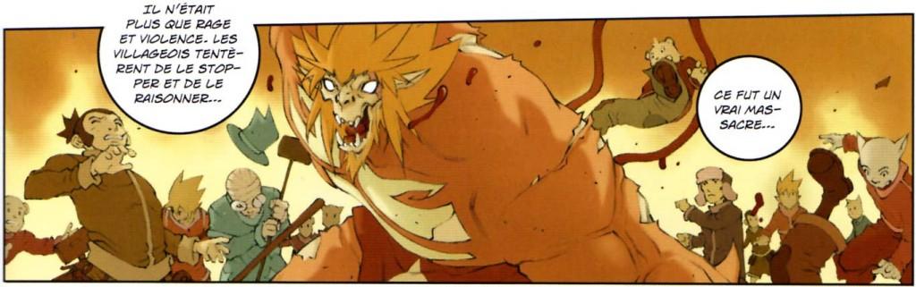 Le père d'Apifaice s'est transformé en monstre à cause de l'épée shushuté