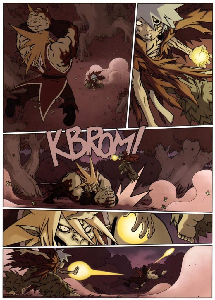 Page 2 du tome 2 de Wakfu Les Larmes de sang - Naïma