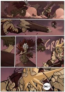 Page 4 du tome 2 de Wakfu Les Larmes de sang - Naïma