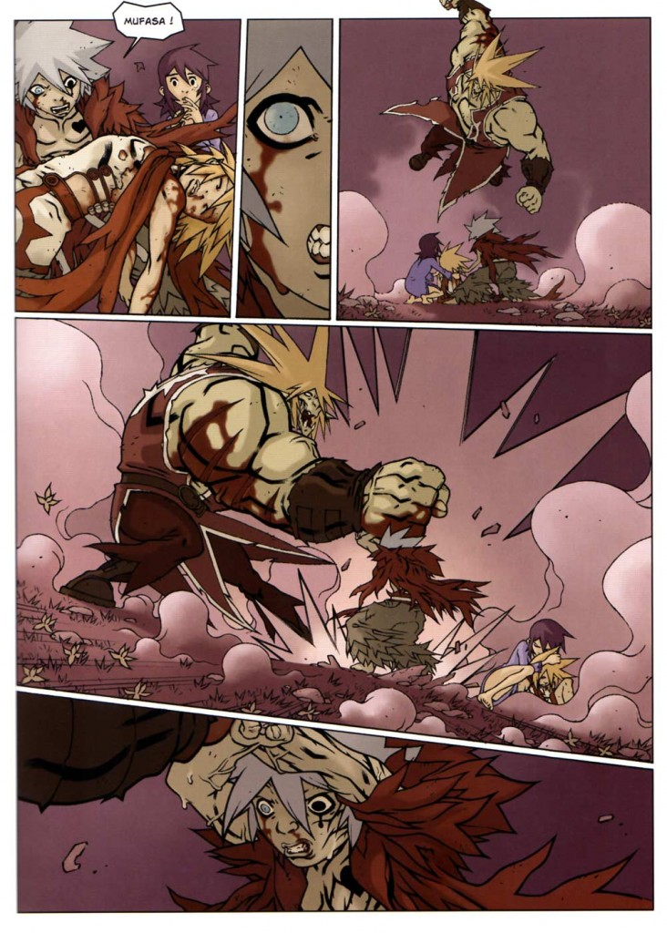 Page 8 du tome 2 de Wakfu Les Larmes de sang - Naïma