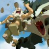 Le Gerbille géant attaque Ruel