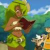 Amalia découvre dans le livre un message qu'Evangelyne leur a laissé