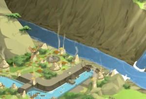 La ville du Mont Boufton est totalement dévastée