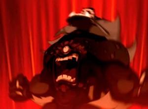 Grany le chacha de Remington se transforme en monstre grâce à un shushu