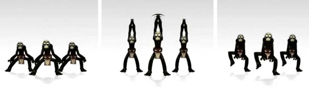 Les goules de Rubilax dansent en reprenant la chorégraphie du clip Thriller de Michael Jackson