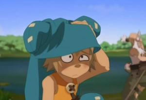 Cette fois ci Yugo est fatigué après avoir emmené Ruel dans un portail