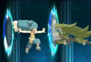 Dans l'épisode précédent Yugo a utilisé le portail avec Amalia sans ressentir de fatigue
