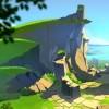 Au début de l'épisode on peut voir les ruines d'un vrai donjon