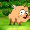 Amalia trouve un petit Dragon Cochon (Wakfu)