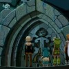 Kamasu-tar conduit le groupe à l'entrée du Donjon du Dragon Cochon (Wakfu ep 32)