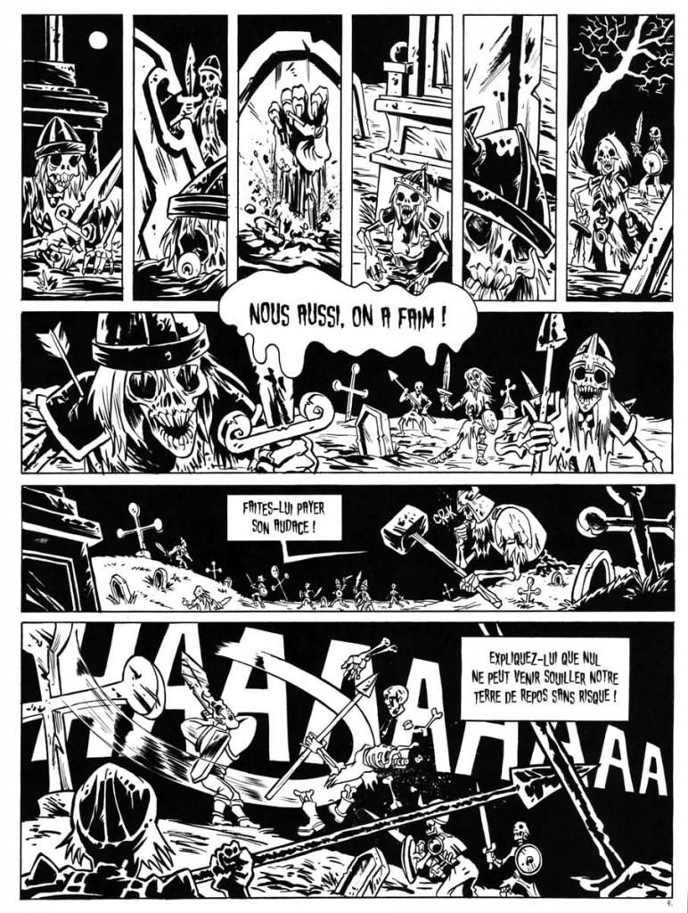 Page 4 de Wakfu nébuleuse - L'île de Lorose