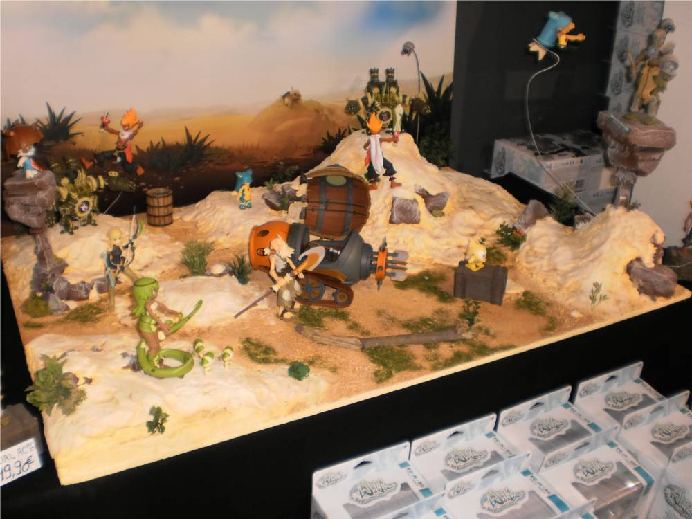 Ce diorama est réalisé avec les figurines DX