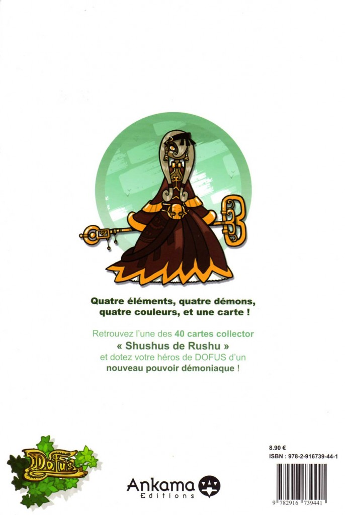 Dofus HS 1 - Les Shushus de Rushu (dos)