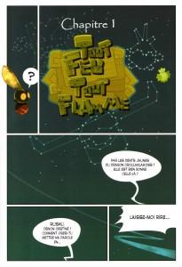 Page 1 du Dofus Quest - Les mains d'Eniripsa
