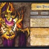 Jeu de plateau World of Warcraft : Fiche boss 4 joueurs de Kel&#039;Thuzad