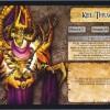 Jeu de plateau World of Warcraft : Fiche boss 4 joueurs de Kel'Thuzad