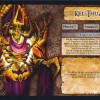 Jeu de plateau World of Warcraft : Fiche boss 6 joueurs de Kel&#039;Thuzad