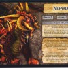 Jeu de plateau World of Warcraft : Fiche boss 4 joueurs de Nefarian