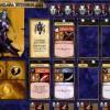 Jeu de plateau World of Warcraft : Fiche de personnage d'un guerrier de l'alliance