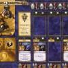 Jeu de plateau World of Warcraft : Fiche de personnage d'un prêtre de l'alliance