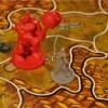 Jeu de plateau World of Warcraft : combat entre un demoniste et un ogre