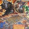 Jeu de plateau World of Warcraft : dos de la boîte