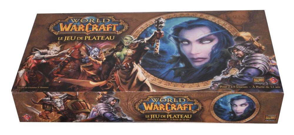 Jeu de plateau World of Warcraft : trois quart devant de la boîte
