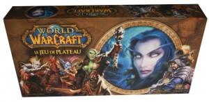 Jeu de plateau World of Warcraft : trois quart haut de la boîte