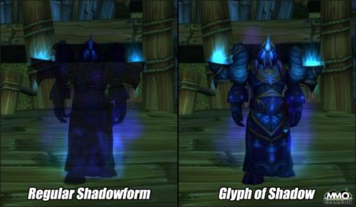 Les prêtres en forme ombre dans World of Warcraft : ils sont noirs transparents