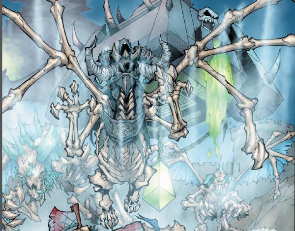 Une attaque du Fleau dans la bande-dessinee World of Warcraft