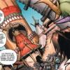 Arrivée de Lo'gosh et de Broll aux pitons du Tonerre (World of Warcraft bande-dessinées Tome 2 : l'appel du destin)