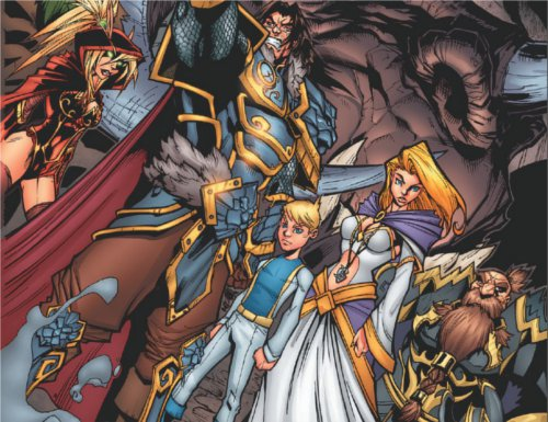 Varian, Jaina, Valeera, Anduin et Thragmar après la victoire contre Onyxia