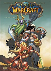 Couverture du tome 1 de la bande-dessinees World of Warcraft : en terre etrangère