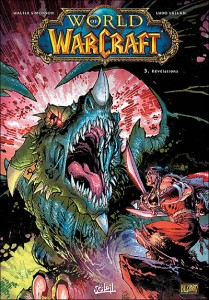 Couverture de World of Warcraft bande-dessinees Tome 3 : revelations