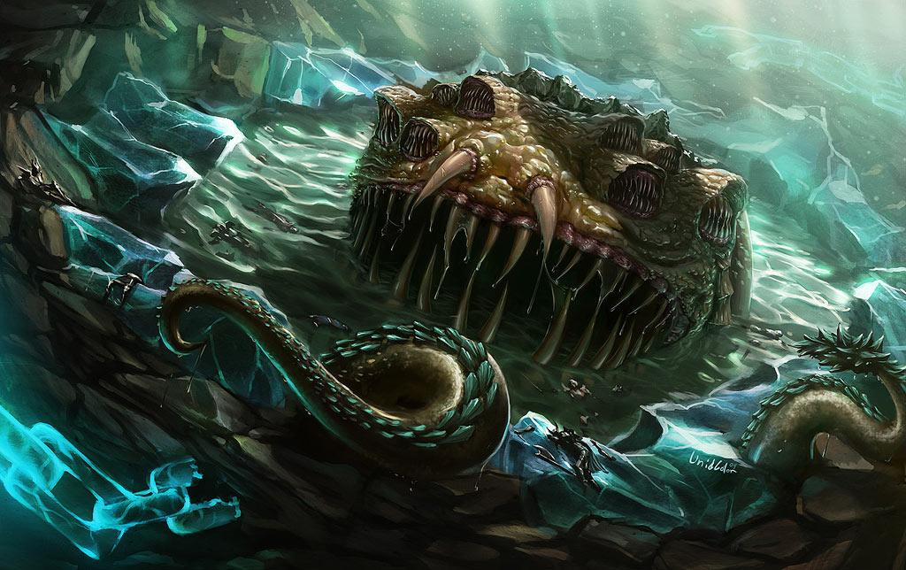 Fan art de Yogg-Saron dans Warcraft
