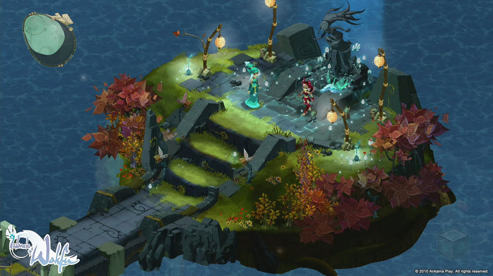 La statue de la déesse des éliatropes  (Islands of Wakfu)