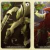 Voici les 5 cartes de loterie sur le thème du Chevalier Noi