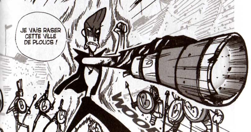Ténèbre a du mal à refouler le mal qui est en lui (Dofus Monster Tome 3)
