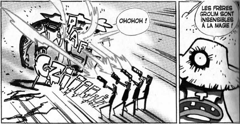 Les frères Groum sont insensibles à la magie (Dofus Monster Tome 3)