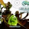 Plaquette des Carte Wakfu TCG avec Edasse, Eratz et Nomekop (Dofus Monster Tome 5)