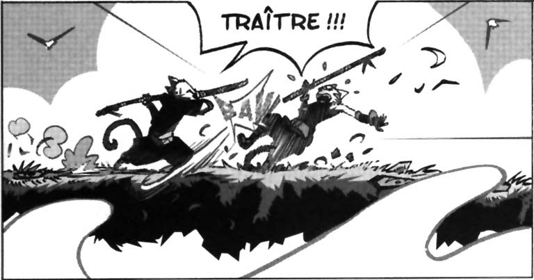 Nomékop affronte Rokko en duel, mais il a été empoisonné
