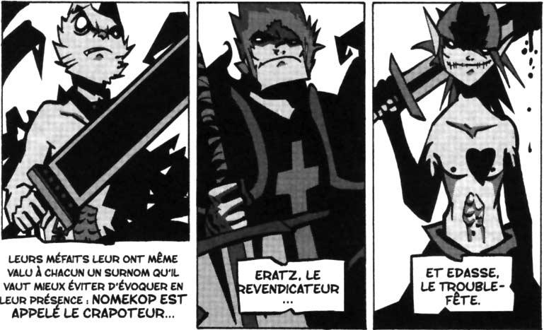 Nomekop, Eratz et Edasse (Dofus Monster Tome 5)