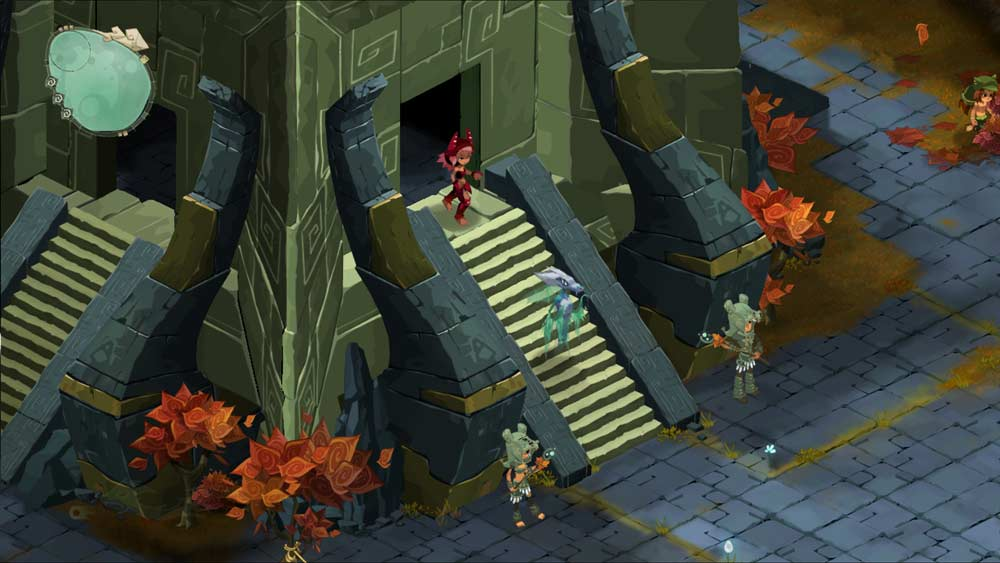 Le temple de la déesse (Islands of Wakfu)