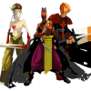 Nomekop, Eratz et Edasse (dans le jeu en ligne Dofus)