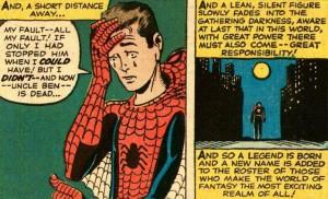 Spiderman : Un grand pouvoir implique de grandes responsabilités